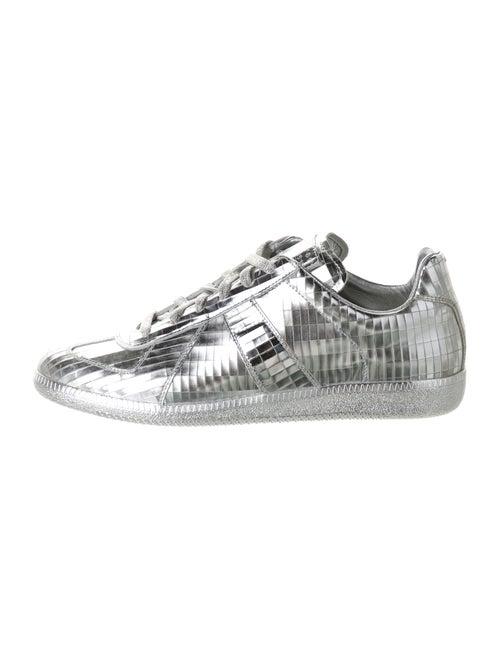 Maison Margiela Mirror Ball Sneakers Silver