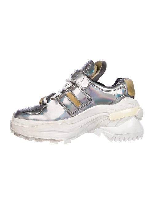 Maison Margiela Patent Leather Chunky Sneakers Met