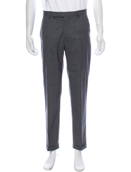 Maison Margiela Virgin Wool Dress Pants Wool