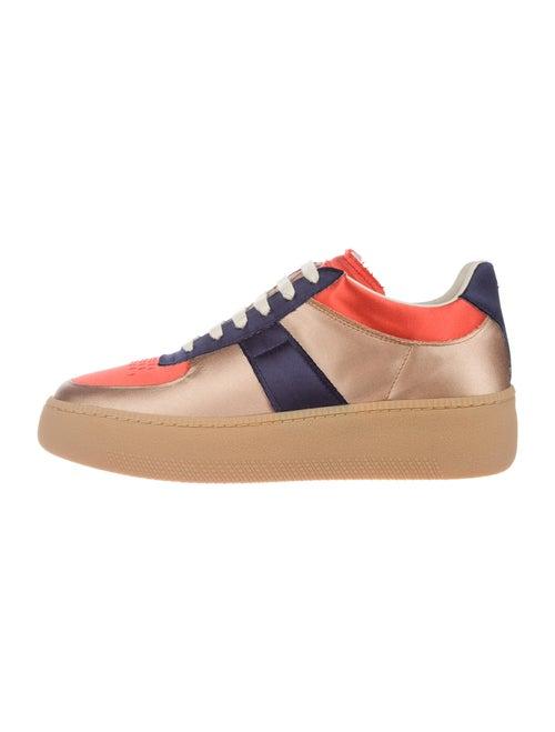 Maison Margiela Colorblock Pattern Sneakers w/ Tag