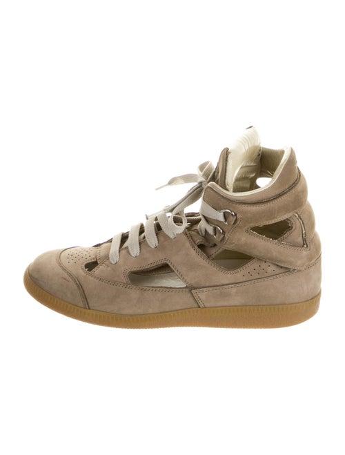 Maison Margiela Suede Sneakers Brown