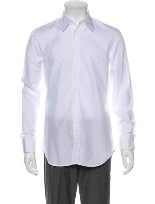 Maison Margiela Long Sleeve Dress Shirt White
