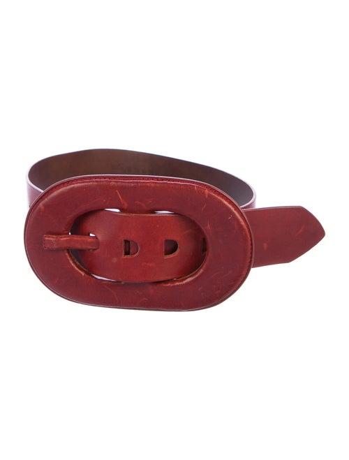 Maison Margiela Leather Wide Belt