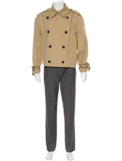 Maison Margiela Cropped Trench Trench Coat