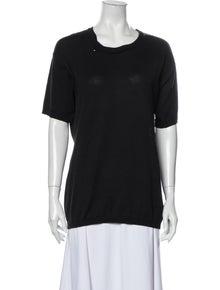 Maison Margiela Crew Neck Short Sleeve T-Shirt