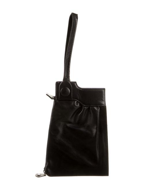 Maison Margiela Leather Clutch Black