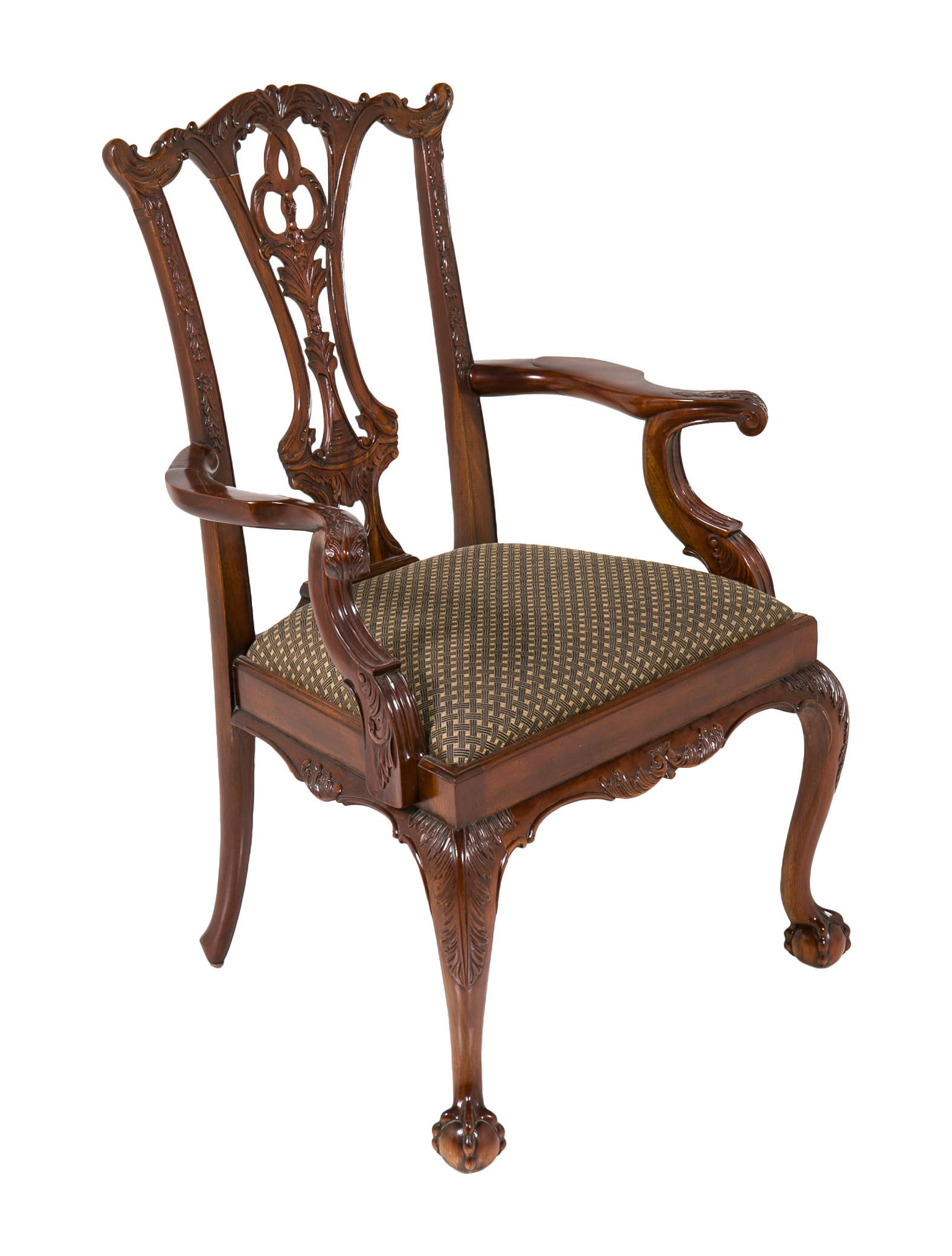 Maitland Smith Set Of Eight Dining Chairs Furniture