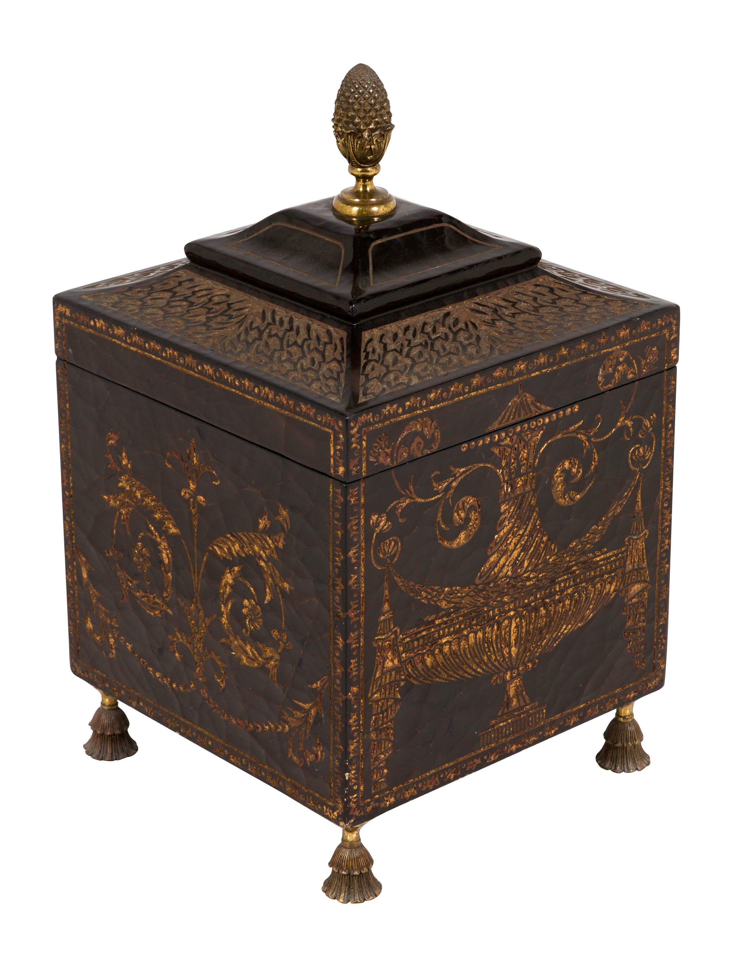 Large Decorative Flower Pots: Maitland Smith Large Decorative Box