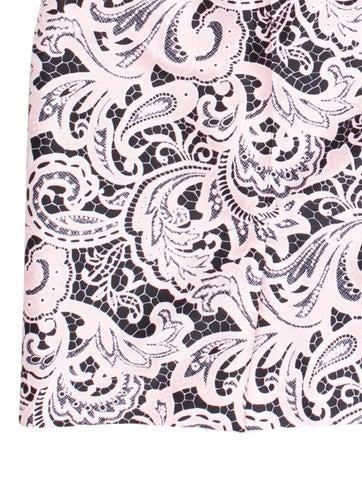 Knee-Length Paisley Print Skirt w/ Tags