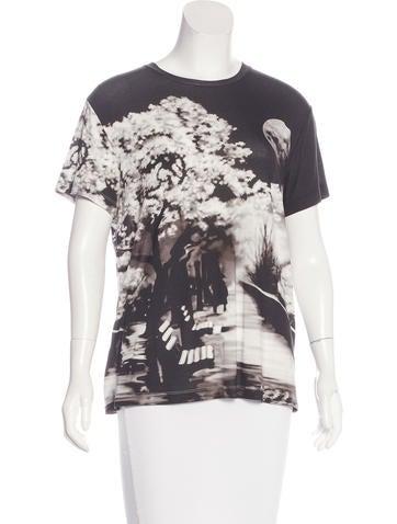 Mary katrantzou digital printed t shirt clothing for Digital printed t shirts