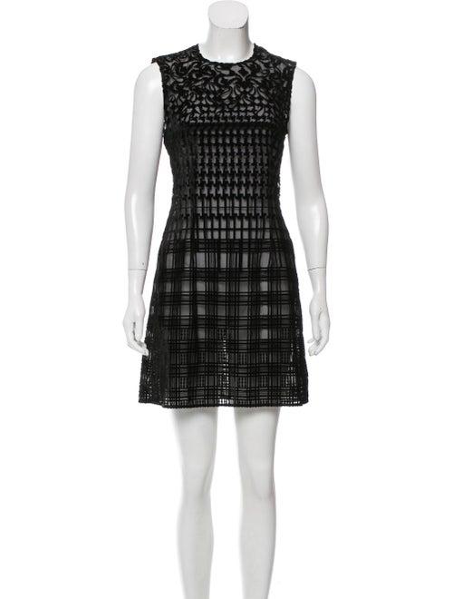 Mary Katrantzou Devoré Mini Dress Black
