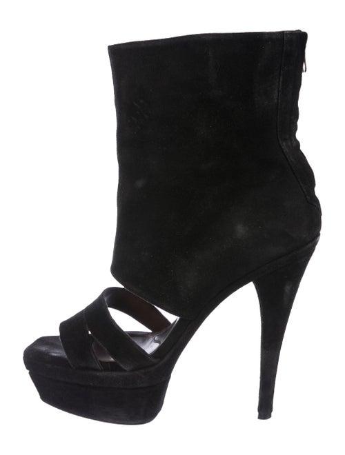 Marni Platform Mid-Calf Boots Black