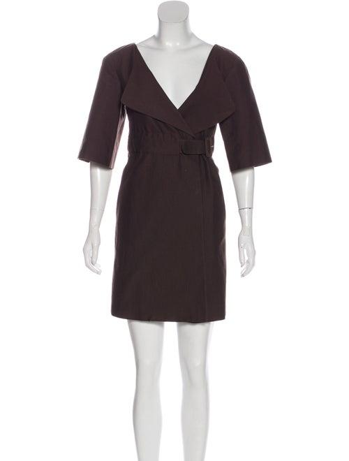 Marni Gabardine Coat Dress