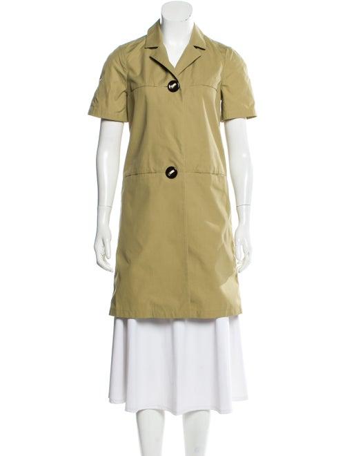 Marni Short Sleeve Short Coat Tan