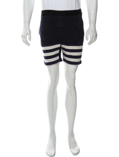 Marni Woven Jogger Shorts blue