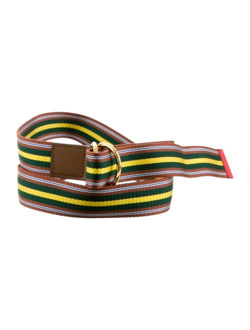 Marni Marni Canvas Belt multicolor