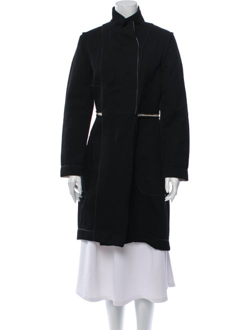 Marni Wool Trench Coat Wool