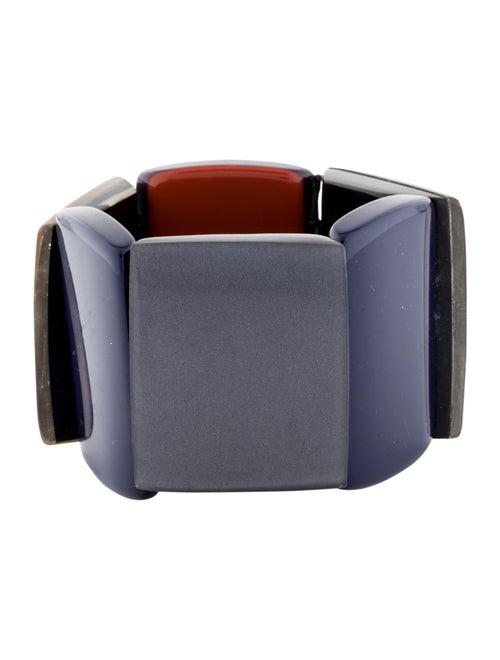 Marni Resin & Horn Stretch Bracelet
