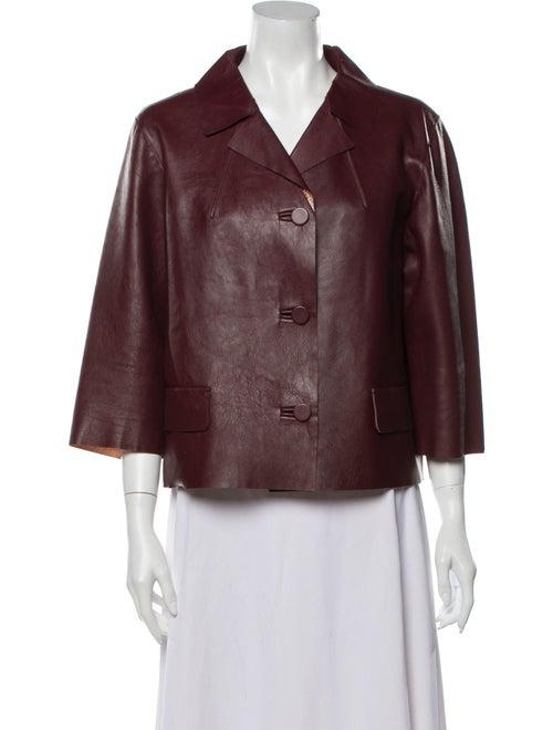 Marni Lamb Leather Jacket