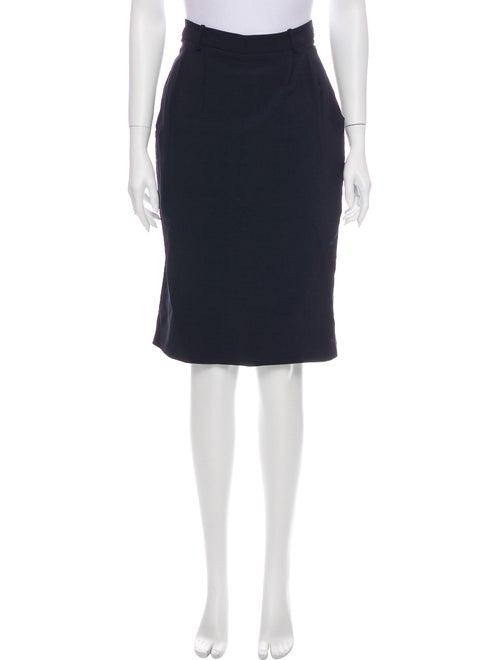 Marni Knee-Length Skirt Blue