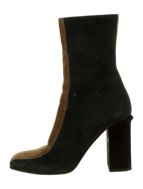 Marni Suede Boots Green