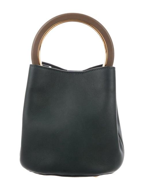 Marni Pannier Bucket Bag Green