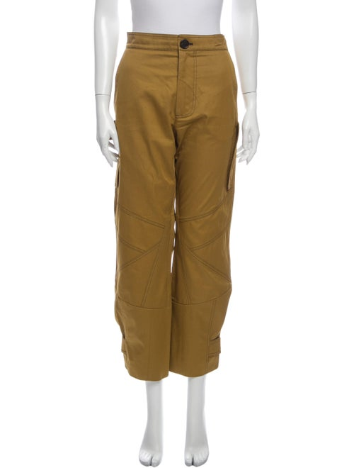 Marni Straight Leg Pants Orange