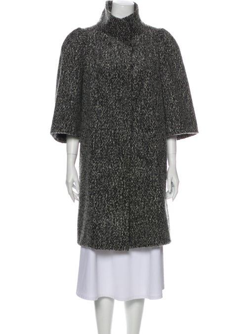 Marni Mohair Coat Grey