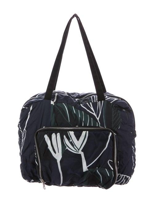 Marni Reversible Nylon Shoulder Bag Blue