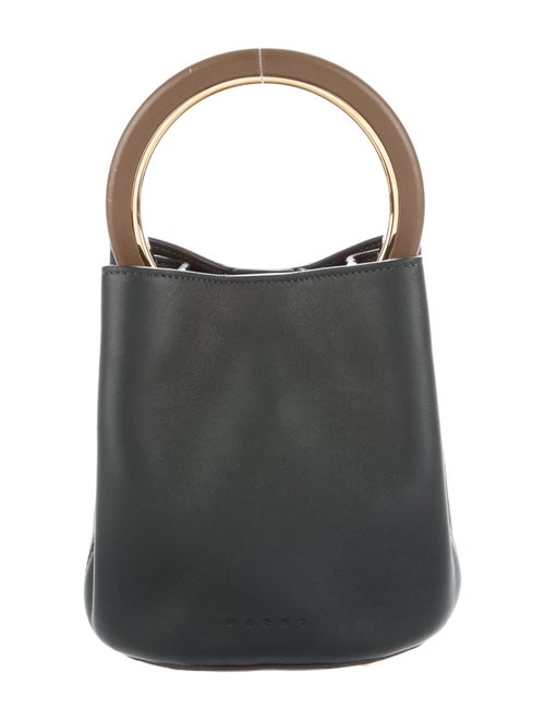 Marni Mini Pannier Bucket Bag Green