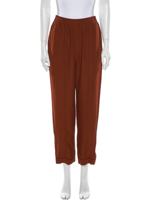 Marni Straight Leg Pants Orange