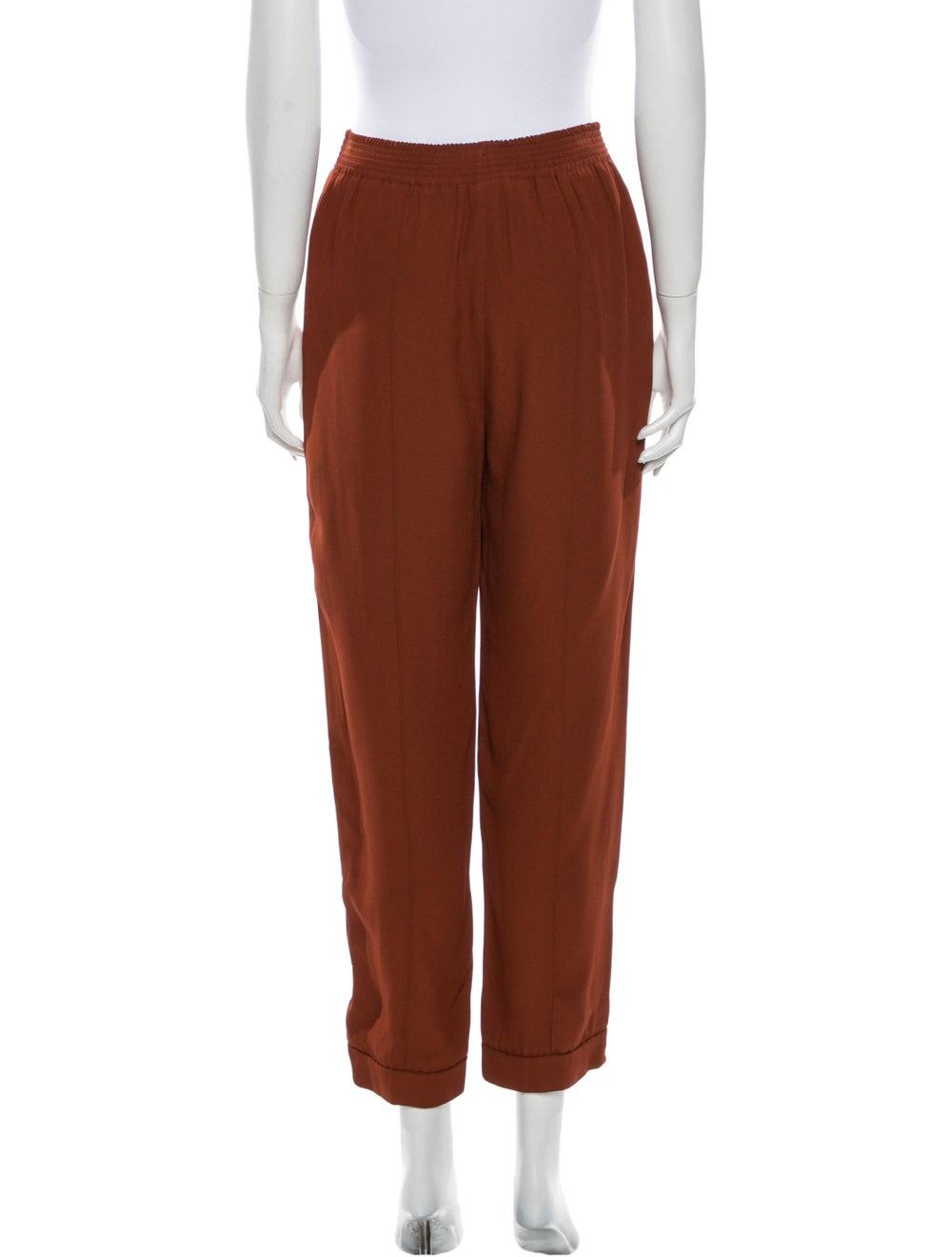 Marni Straight Leg Pants Orange - image 3