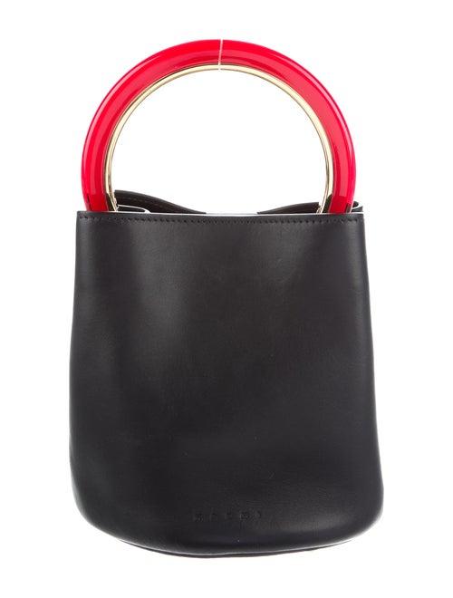 Marni Pannier Bucket Bag Black
