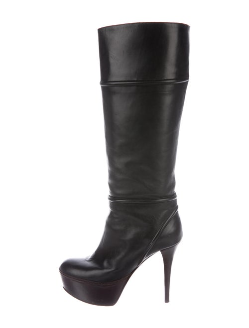 Marni Leather Boots Black