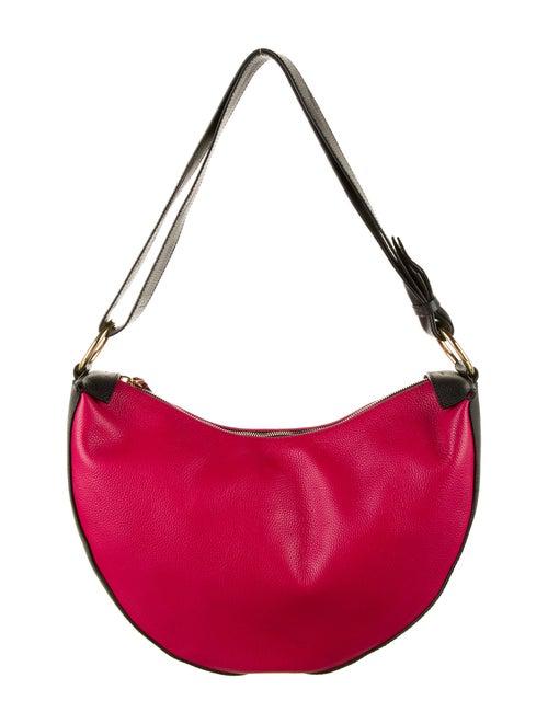 Marni Leather Hobo Bag Red