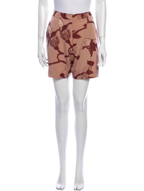 Marni Silk Knee-Length Shorts