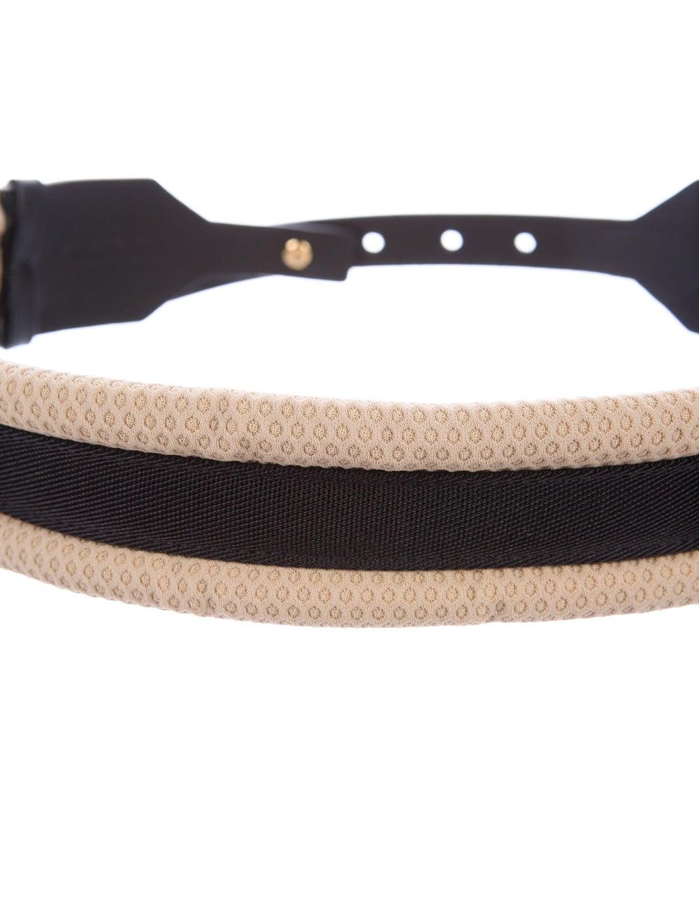 Marni Leather Wide Waist Belt Black - image 2