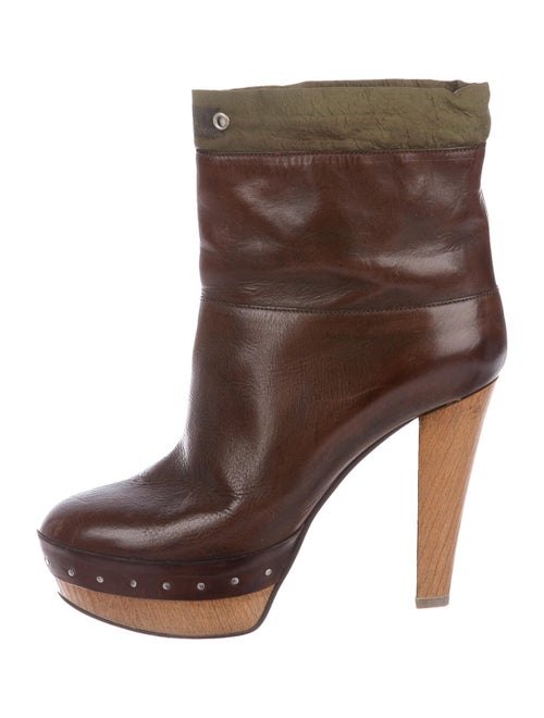 Marni Leather Boots Brown - image 1