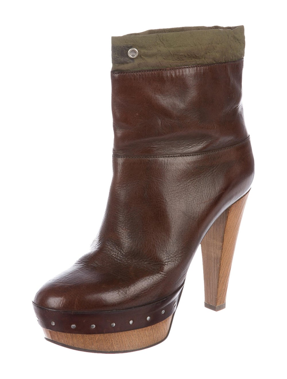 Marni Leather Boots Brown - image 2
