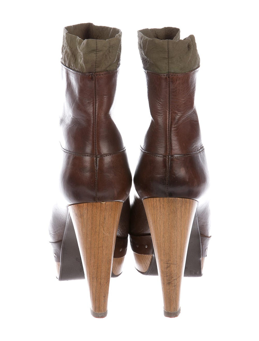Marni Leather Boots Brown - image 4