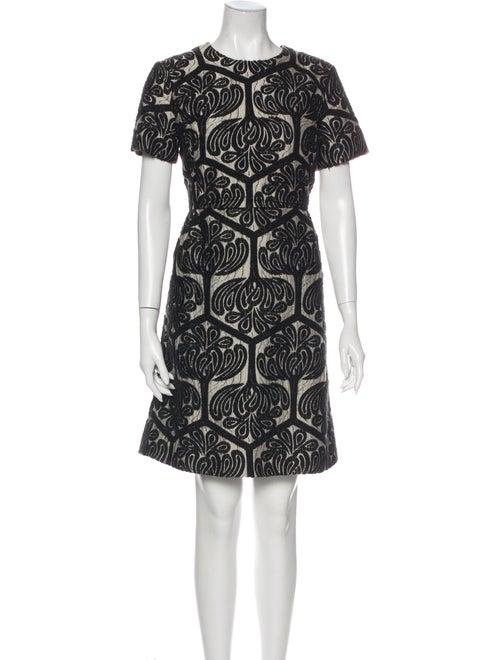 Marni 2011 Mini Dress Black