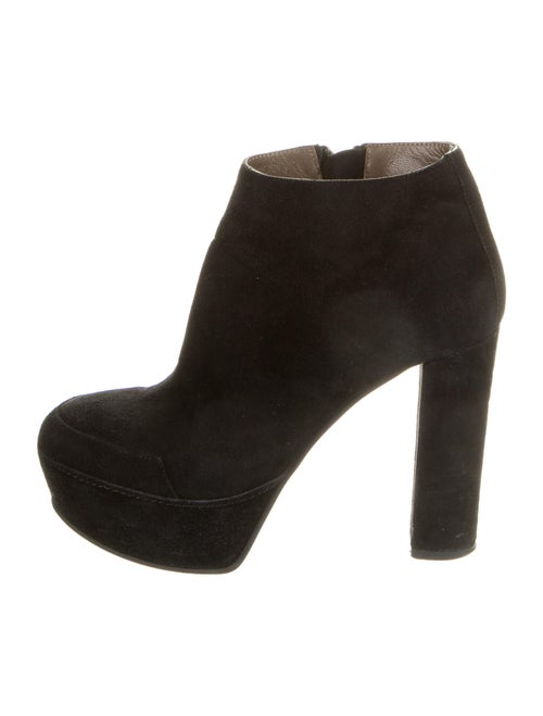 Marni Suede Boots Black
