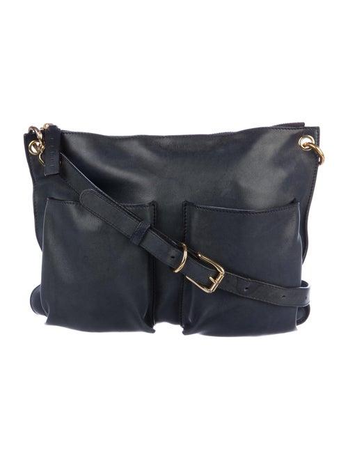 Marni Bandoleer Messenger Bag Blue