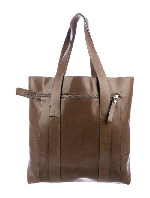 Marni Leather Tote Brown