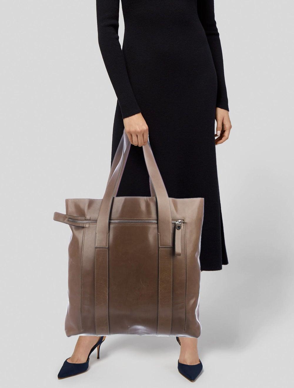 Marni Leather Tote Brown - image 2