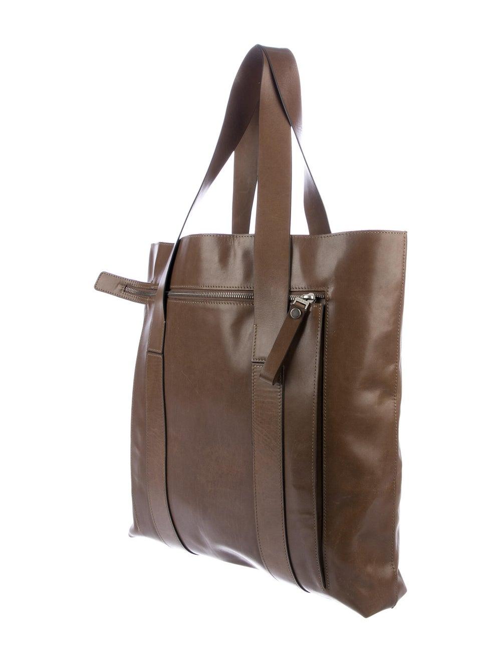 Marni Leather Tote Brown - image 3
