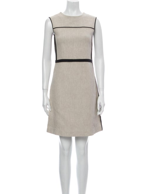 Marni Crew Neck Mini Dress