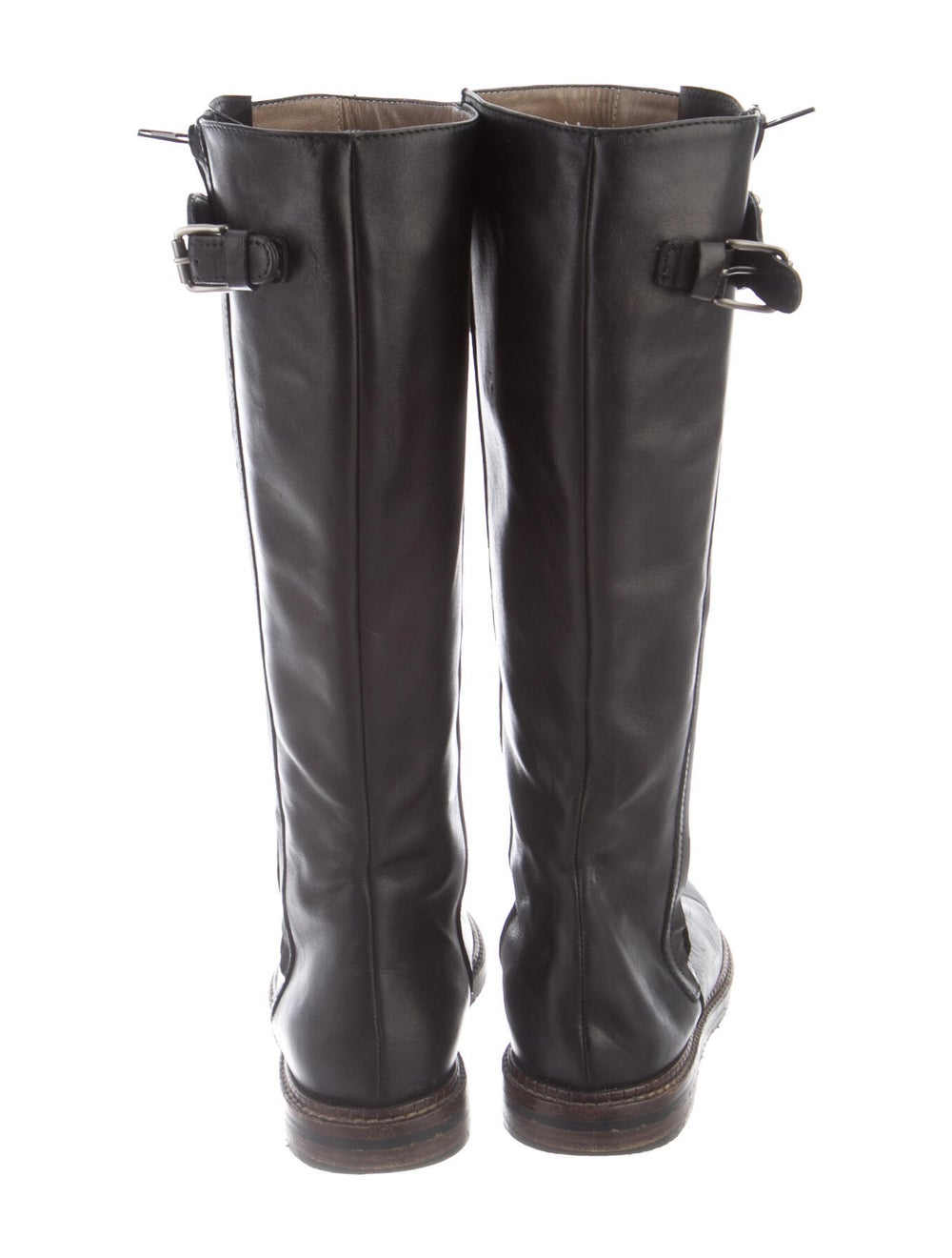 Marni Leather Riding Boots Black - image 4