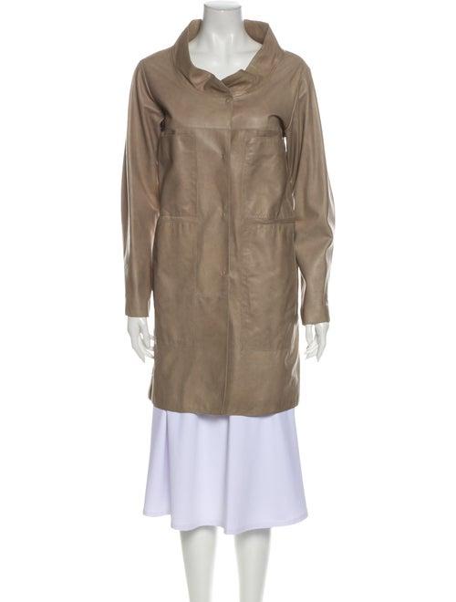 Marni Lamb Leather Coat