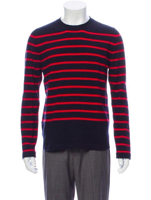 Marni Cashmere Striped Pullover Blue